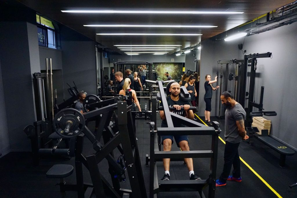 Personal training, Bank City London