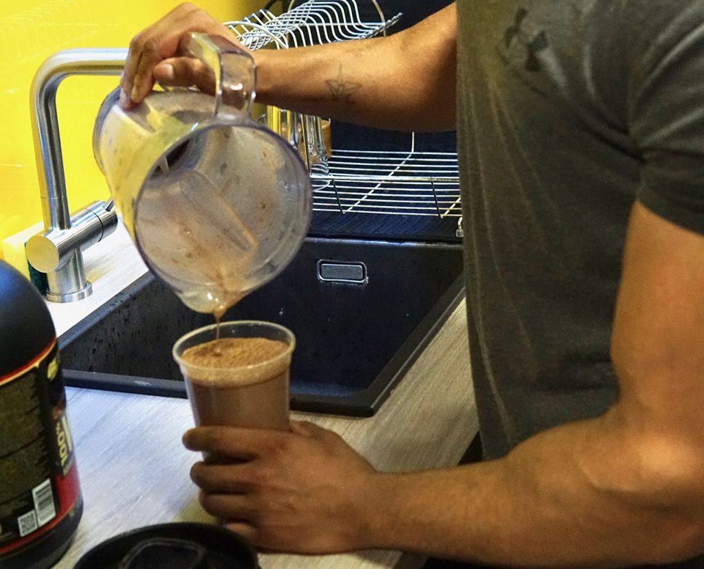 Smoothies at The Cut Gym London