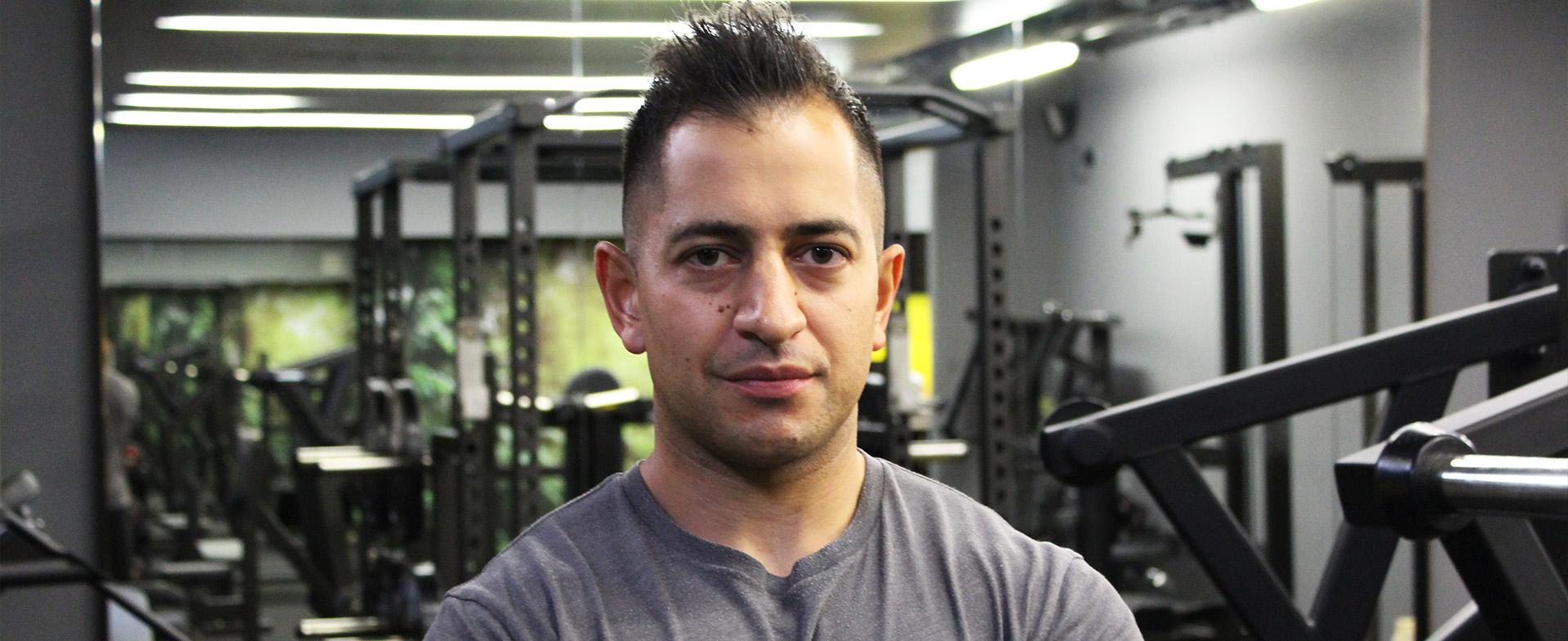 Sean Faroqui Personal Trainer The Cut Gym London