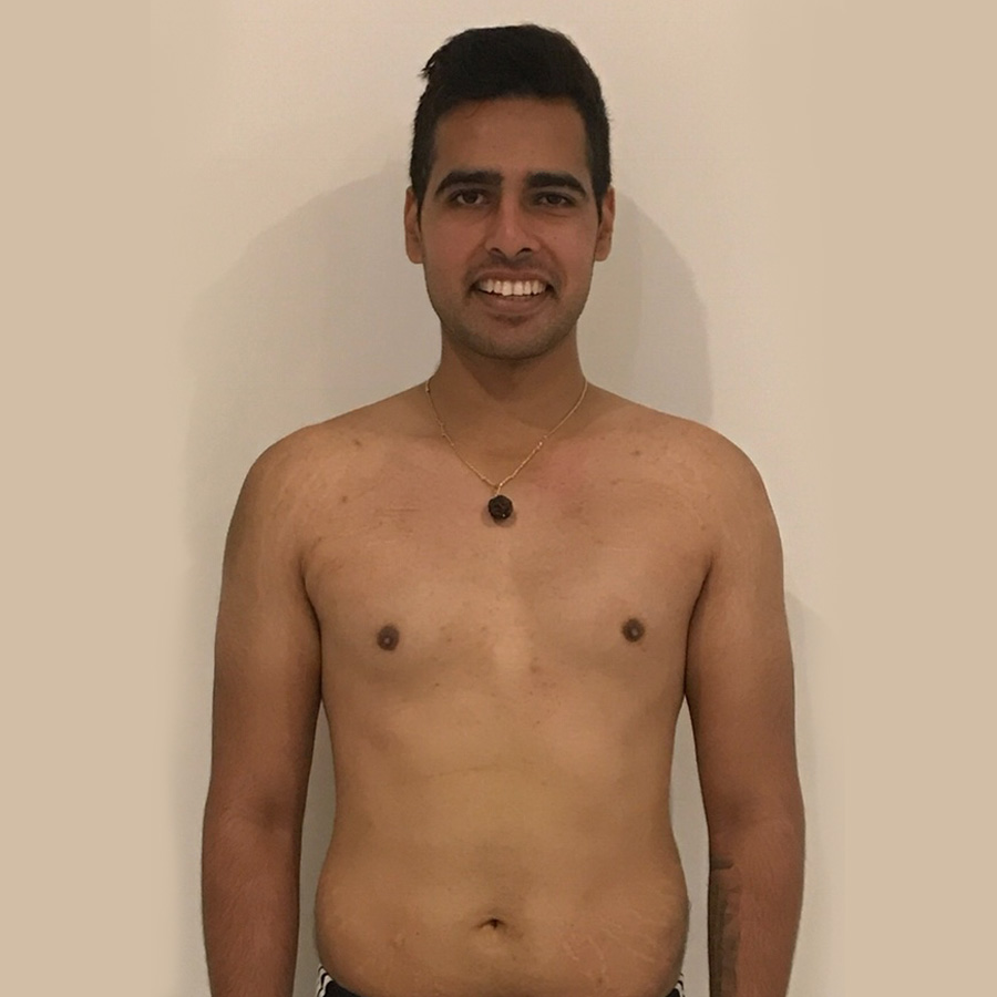 Akash's diet and fitness programme at The Cut Gym London