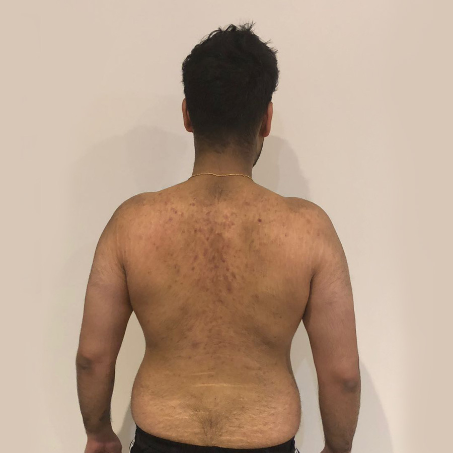 Akash's diet and fitness programme at The Cut Gym London before