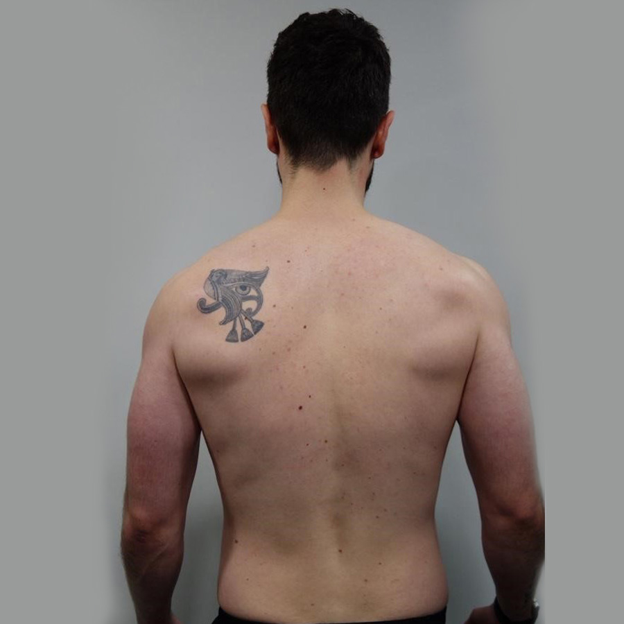 Andrew's personal training transformation programme