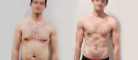 Body transformation Dan