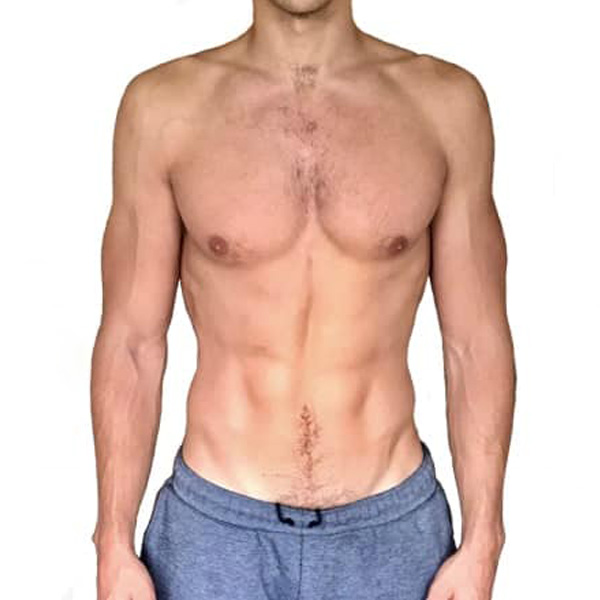 Geoff's body transformation at The Cut Gym London after 12 weeks.