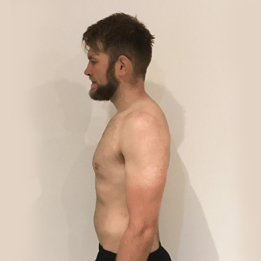 George weight loss at the Cut Gym London