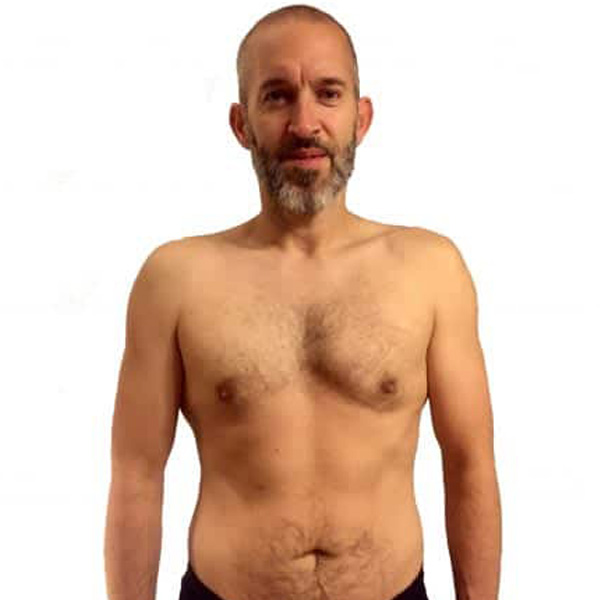 Jonny's weight loss story at the Cut Gym in Bank London