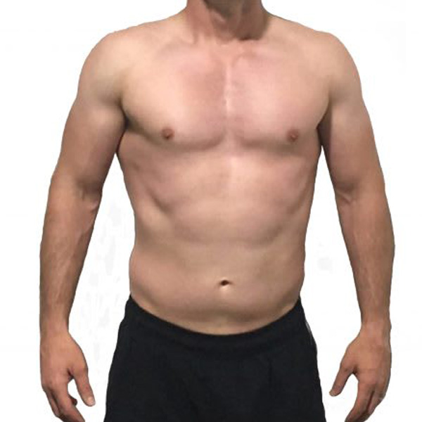 Michael's body transformation programme at The Cut Gym in Bank, London.