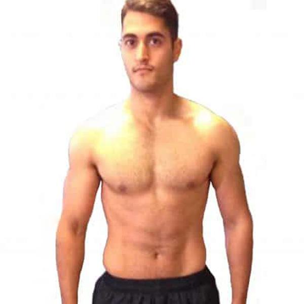 Rasheed's transformation at the Cut Gym London